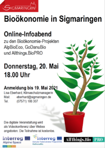 Infoveranstaltung Bioökonomie - Stadt Sigmaringen